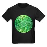Celtic Triskele Kids Dark T-Shirt