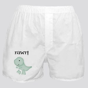 Rawr T-Rex Dinosaur Boxer Shorts