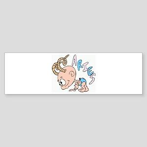 The Aries! Bumper Sticker
