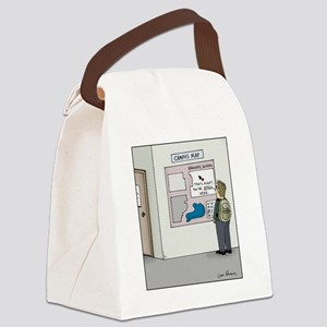 You are Still Here Canvas Lunch Bag