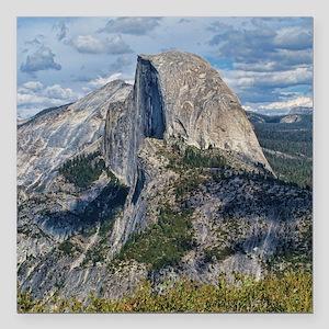 "Helaines Yosemite Square Car Magnet 3"" x 3"""