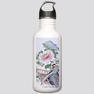 Rt Curtain Pheasants P Stainless Water Bottle 1.0L