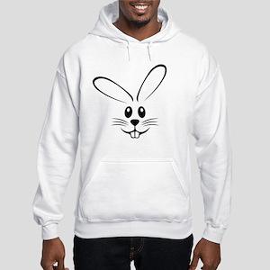 Rabbit Face Hooded Sweatshirt