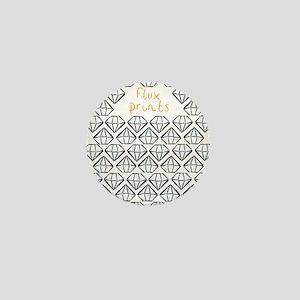 Diamond Flux Mini Button