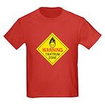 Tantrum Zone Kids Dark T-Shirt