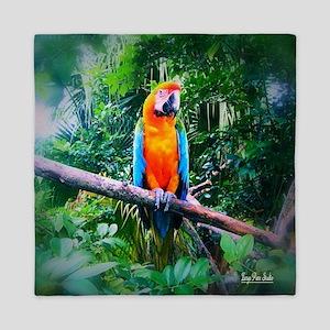 Martinique Macaw Queen Duvet