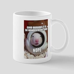 Morning Hamster Mugs