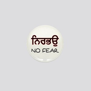 Nirbhau - No Fear Mini Button