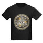 Bejeweled Celtic Shield Kids Dark T-Shirt
