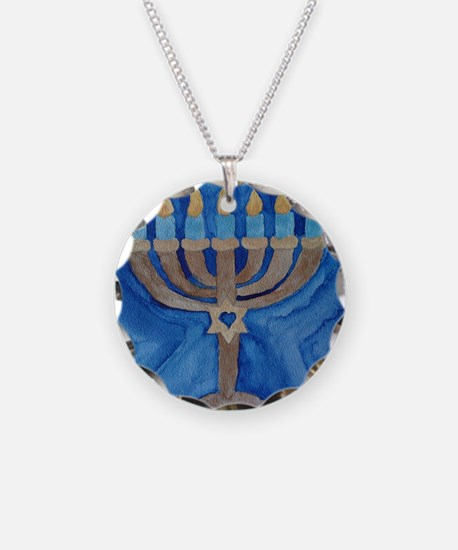 HANUKKAH MENORAH Necklace