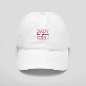 Baby Girl Proud Grandma Cap