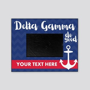 Delta Gamma Personalized Picture Frame