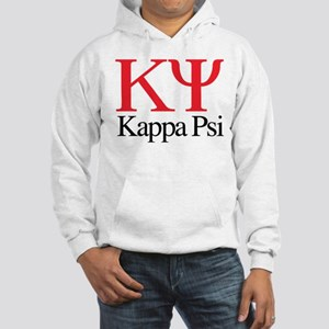 Kappa Psi Letters Hooded Sweatshirt