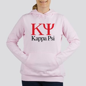 Kappa Psi Letters Women's Hooded Sweatshirt