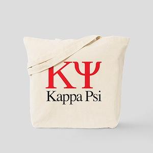 Kappa Psi Letters Tote Bag