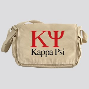 Kappa Psi Letters Messenger Bag