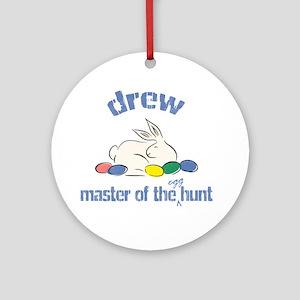Easter Egg Hunt - Drew Ornament (Round)