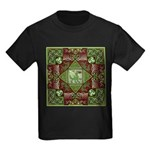 Celtic Dragon Labyrinth Kids Dark T-Shirt