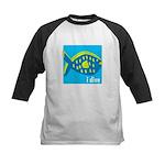 idive reef fish Kids Baseball Jersey