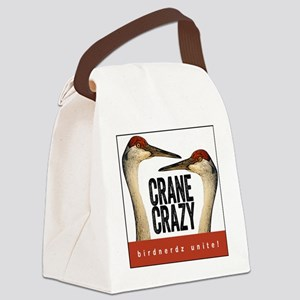 Crane Crazy Canvas Lunch Bag