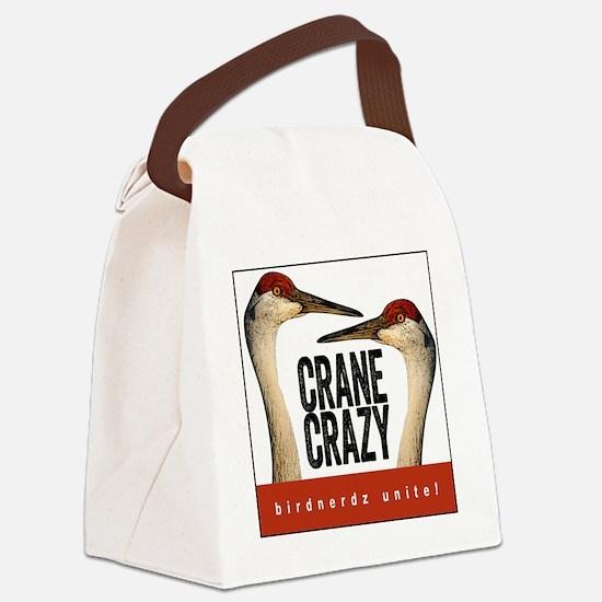 Crane Crazy Canvas Lunch Bag