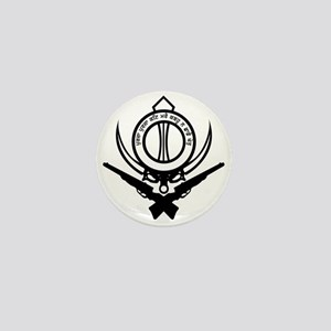 Sikh Freedom Fighter Mini Button