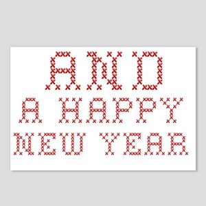 New Year Postcards (Package of 8)