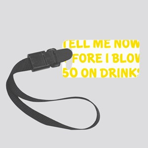 blowDrinkss1D Small Luggage Tag
