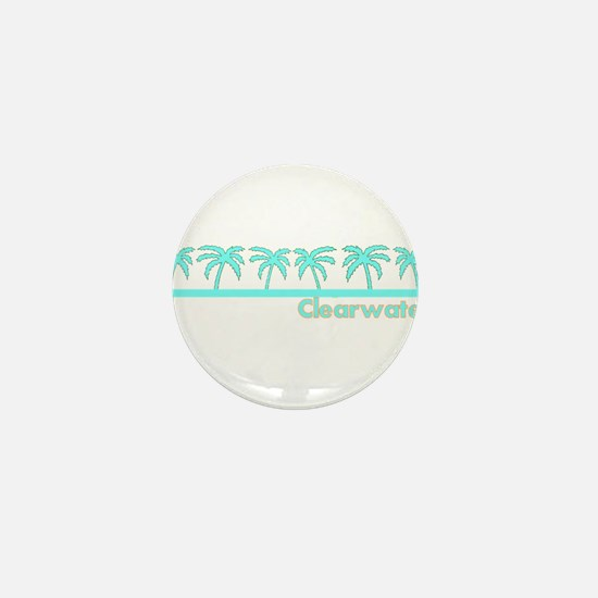 Clearwater, Florida Mini Button
