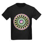 Celtic Spring-Easter Mandala Kids Dark T-Shirt