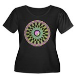 Celtic Spring Mandala Women's Plus Size Scoop Neck