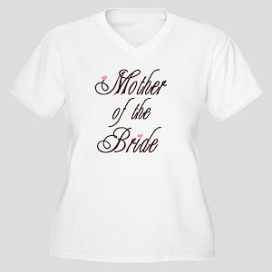 CB Mother of Bride Women's Plus Size V-Neck T-Shir