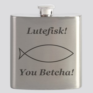 Lutefisk You Betcha Flask