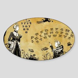 The Dead Teddy Bear Spirit Board Sticker (Oval)