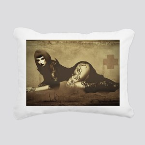 Industrial Li Rectangular Canvas Pillow