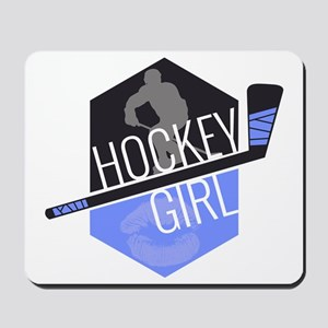 hockeygirl copy copy Mousepad