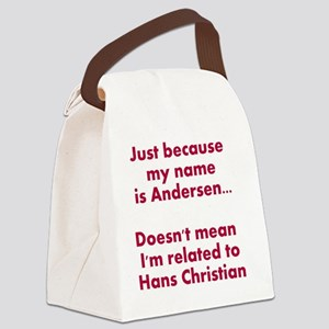 Just because my name is Andersen. Canvas Lunch Bag