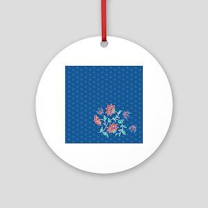 Shower Curtain Aiyana Hexagon solo Round Ornament