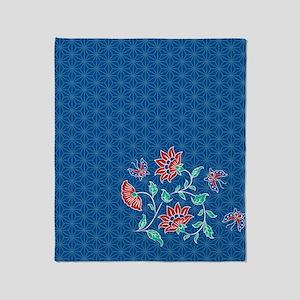 Shower Curtain Aiyana Hexagon solo Throw Blanket