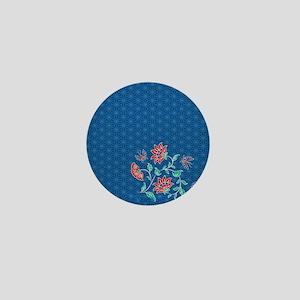 Shower Curtain Aiyana Hexagon solo Mini Button