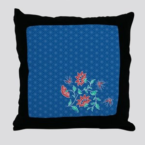 Shower Curtain Aiyana Hexagon solo Throw Pillow