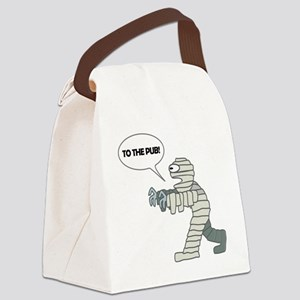 To the Pub! Canvas Lunch Bag