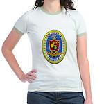 USS LOUISIANA Jr. Ringer T-Shirt