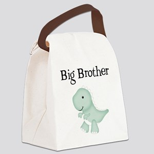 Big Brother Dinosaur Canvas Lunch Bag