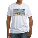 Cape Porpoise Fitted T-Shirt