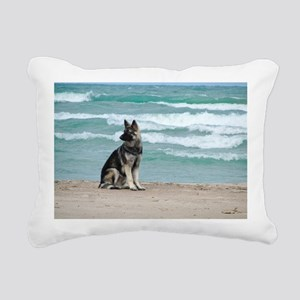 00cover-blackhawk Rectangular Canvas Pillow