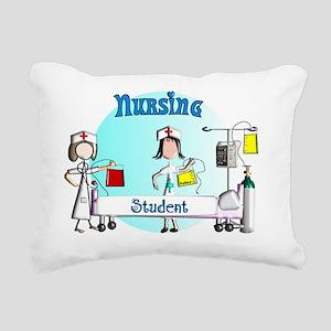 Nursing student bag 2 Rectangular Canvas Pillow