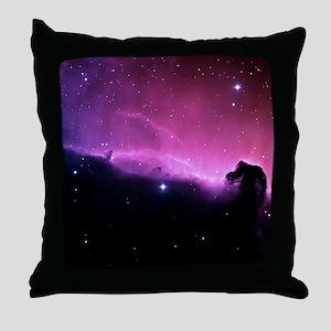 Horsehead Nebula Throw Pillow