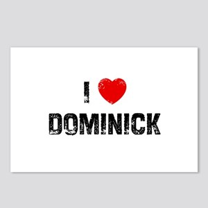 I * Dominick Postcards (Package of 8)