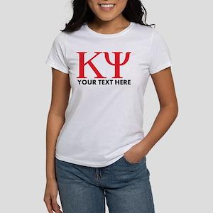 Kappa Psi Letters Pe Women's Classic White T-Shirt
